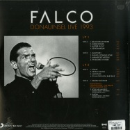 Back View : Falco - DONAUINSEL LIVE 1993 (2LP + POSTER) - Sony Music / 19075810621
