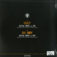 Back View : Critical Impact - CRAZY / FAR AWAY - Metalheadz / META071