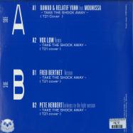 Back View : Dawad / Relatif Yann feat Mounissa - TAKE THE SHOCK AWAY (VOX LOW, PETE HERBERT & FRED BERTHET MIX) - La Dame Noir / Darkslice 002