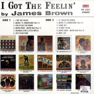 Back View : James Brown - I GOT THE FEELIN (LP) - Polydor / PD1031