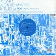 Back View : Hauschka - SALON DES AMATEURS REMIX EP 1 (VILLALOBOS / MAYER) - Fatcat Records / 12fat085