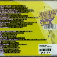 Back View : Various Artists - ELEKTRO BERLIN 2015 (2XCD) - Pink Revolver / 26421082
