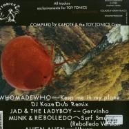 Back View : Whomadewho, Munk & Rebolledo, Alien Alien, Jad & Ladyboy - MUSHROOM HOUSE EP 1 (DJ KOZE REMIX) - Toy Tonics / TOYT052