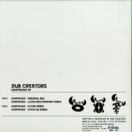 Back View : Dub Creators - KANPEKINA EP - La Pince / LPR002