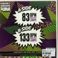Back View : DJ Ritchie Ruftone - PRACTICE YO CUTS VOL. 3 REMIXED (GREEN 7 INCH) - Turntable Training Wax  / TTW005