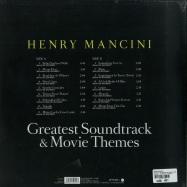 Back View : Henry Mancini - GREATEST SOUNDTRACKS & MOVIE THEMES (LP) - Zyx Music / ZYX 56085-1 / 8186835