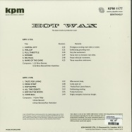Back View : Various Artists - HOT WAX (THE KPM REISSUES) (LP,180G VINYL) - Be With Records / BEWITH043LP