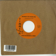 Back View : Carlton Jumel Smith with Cold Diamond & Mink - WOMAN YOU MADE ME (CLEAR 7 INCH) - Timmion / TR733