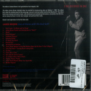 Back View : James Brown - LIVE AT HOME WITH HIS BAD SELF (CD) - Sony Music / 60257764561