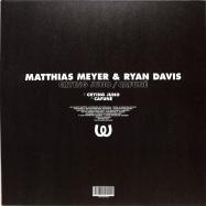 Back View : Matthias Meyer & Ryan Davis - CRYING JUNO / CAFUNE - Watergate Records / WGVINYL70