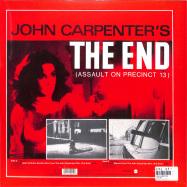 Back View : John Carpenter - THE END - Zyx Music / MAXI 1053-12