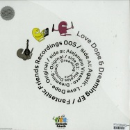 Back View : Agaric / Alejandro Vivanco - LOVE , DOPE & DREAMING EP (N. DUVOISIN REMIX) - Fantastic Friends Recordings / FFR005