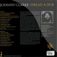 Back View : Johnny Clarke - DREAD A DUB (LP) - Jamaican Records / jrlp048