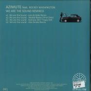 Back View : Azimute Feat. Rockey Washington - WE ARE THE SOUND REMIXED - Serialism / SER041