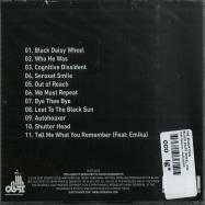 Back View : The Black Dog - BLACK DAISY WHEEL (CD) - Dust Science / dustcd055