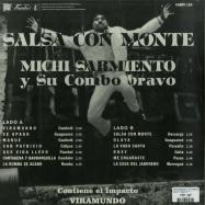 Back View : Michi Sarmiento Y Su Combo Bravo - SALSA CON MONTE (LP) - Vampi Soul / VAMPI 184