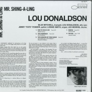 Back View : Lou Donaldson - MR. SHING-A-LING (180G LP) - Blue Note / BST 84271 / 7738851