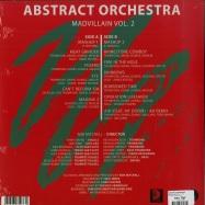 Back View : Abstract Orchestra - MADVILLAIN VOL. 2 (LP + MP3) - ATA Records / ATALP013