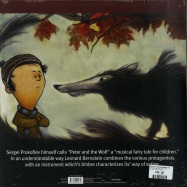 Back View : Leonard Bernstein - PETER AND THE WOLF (LP + CD) - Zyx Music / HOER 1150E-1