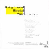 Back View : Telemachus - BORING & WEIRD HISTORICAL MUSIC (2LP) - High Focus / HFRLP100