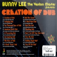 Back View : Bunny Lee - CREATION OF DUB (CD) - Jamaican / jrcd040