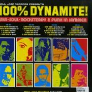 Back View : Various Artists - 100% DYNAMITE! (2X12) - Soul Jazz records / sjrlp40 / 116931