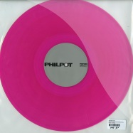 Back View : Soulphiction - OBSIDIAN FIELDS (CLEAR PINK VINYL) - Philpot / PHP069