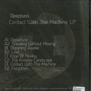 Back View : Deepbass - CONTACT WITH THE MACHINE (2X12 LP) - Informa Records / INFORMALP002