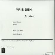 Back View : Yris Den - STRAFEN - Magazine / MAGAZINE 019