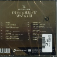 Back View : Alan Walker - DIFFERENT WORLD (CD) - Sony / 19075924062