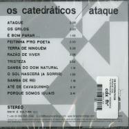 Back View : Os Catedraticos - ATAQUE (CD) - Far Out Recordings  / FARO207CD