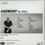 Back View : Bill Frisell - HARMONY (2LP) - Blue Note / 0800164