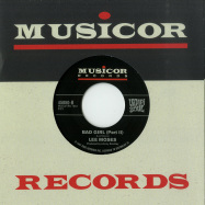 Back View : Lee Moses - BAD GIRL (PARTS I & II) (7 INCH) - Vampisoul / VAMPI45060 / 00136996