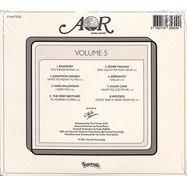 Back View : Various Artists - AOR GLOBAL SOUNDS 1977-1984 (VOLUME 5) (CD) - Favorite Recordings / FVR171CD