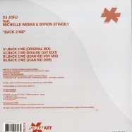 Back View : DJ Jorj feat Michelle Weeks & Byron Stingily - BACK 2 ME - Stalwart / stal015