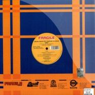 Back View : Simone Pisapia / Jessie Diamond DJ - MIRA / LOVE IS EMOTION - Fragile / frg109
