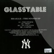 Back View : Braille - THE STORM EP (PICTURE DISC) - Glasstable / GT05