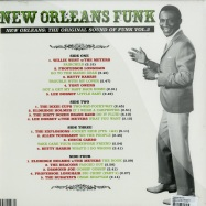 Back View : Various Artists - NEW ORLEANS FUNK 3 (2LP) - Soul Jazz Records / SJRLP268