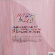 Back View : Moniker - BILLY D (PATRICE SCOTT RMX) - Circus Company / CCS083