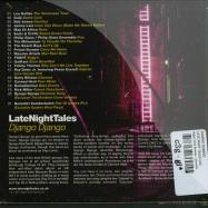 Back View : Django Django - LATE NIGHT TALES (CD+DL Code) - Night Time Stories / alncd35