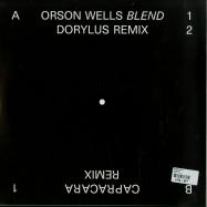 Back View : Orson Wells - BLEND EP - Bokhari / BK14