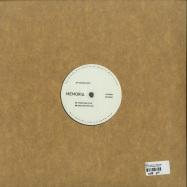 Back View : Bodj - REFLECTORS EP (180G VINYL) - Memoria Recordings / MEM047