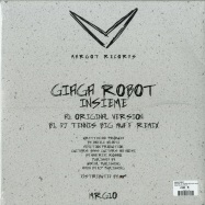 Back View : Giaga Robot - INSIEME (DJ TENNIS BIG MUFF REMIX) - Margot Records / MRG10