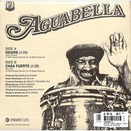 Back View : Aguabella - DESIRE / CASA FUERTE (7 INCH) - Dynamite Cuts / Dynam7020