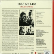 Back View : Miles Davis - 1958 MILES (LTD RED 180G LP) - Waxtime / 012950684
