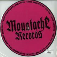 Back View : David Vunk - CROSS ADDICTION EP (PICTURE VINYL) - Moustache / MST041