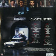 Back View : Elmer Bernstein - GHOSTBUSTERS O.S.T. (CLEAR & SLIME 2LP) - Sony / 19075950021