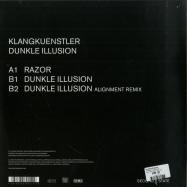 Back View : KlangKuenstler - DUNKLE ILLUSION EP - Second State Audio / SNDST065