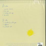 Back View : Jean Tonique - SUNNY SIDE UP (LP) - Partyfine / TON004LP