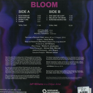 Back View : Jeff Williams - BLOOM (180G LP + MP3) - Whirlwind / WR4737LP / 05183571